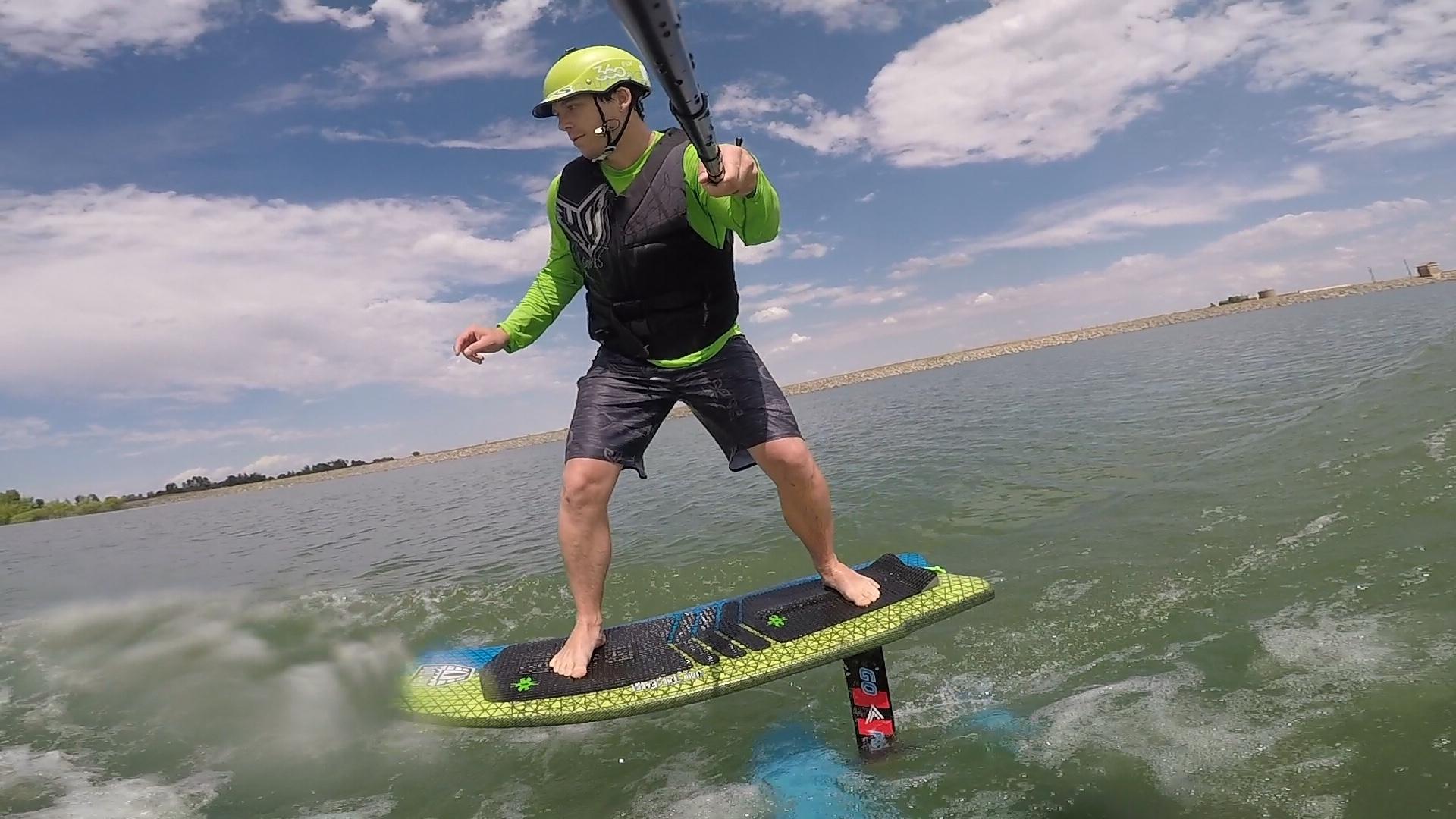 wakesurfing | Land Locked Surfing